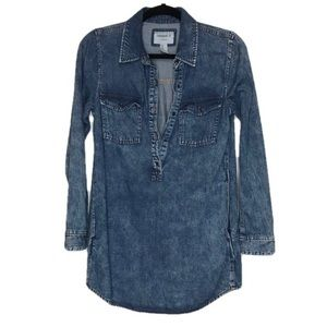 Forever 21 Denim Jean Mini Dress with Pockets